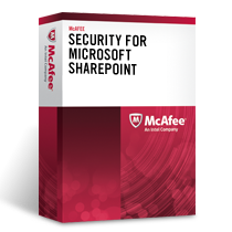 McAfee Security for Microsoft SharePoint