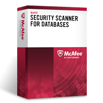 McAfee Security Scanner for Databases